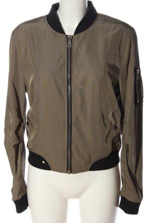 Blind Date Bomber Jacket brown-black casual look