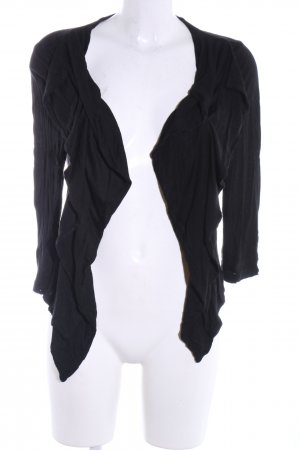 Blind Date Cardigan schwarz Casual-Look