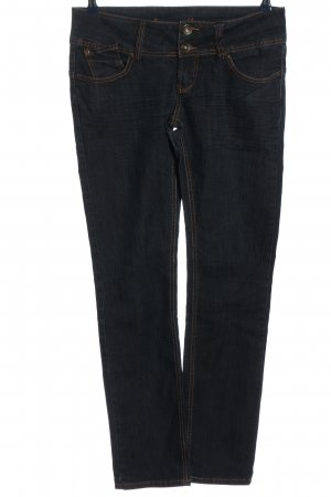 Blind Date Straight-Leg Jeans schwarz Casual-Look