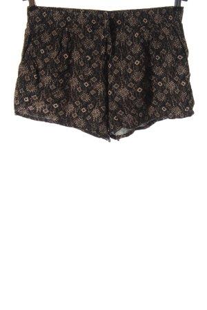 Blind Date Pantalón corto marrón-blanco puro look casual