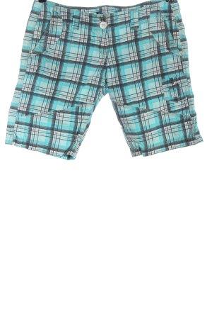 Blind Date Hot pants geruite print casual uitstraling