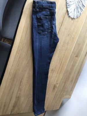 Blind Date Pantalon cinq poches bleu foncé