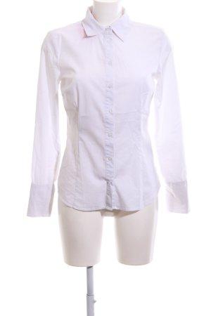 Blind Date Camisa de manga larga blanco estilo «business»