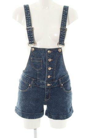 Blind Date Jeans met bovenstuk blauw casual uitstraling