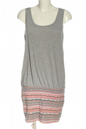 Blind Date Minikleid grafisches Muster Casual-Look