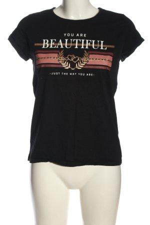 Blind Date Shirt met print gedrukte letters casual uitstraling