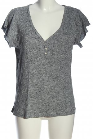 Blind Date Ribbed Shirt light grey casual look