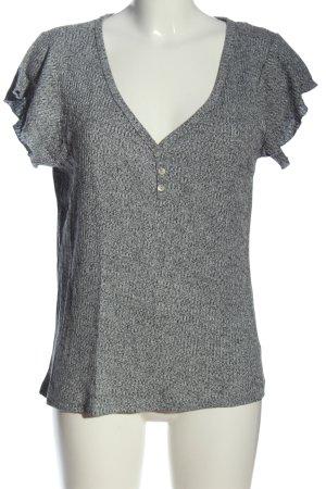 Blind Date Camicia a coste grigio chiaro stile casual