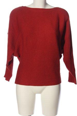 Blind Date Maglione girocollo rosso stile casual