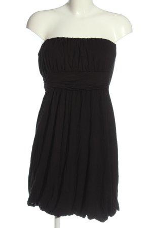 Blind Date schulterfreies Kleid schwarz Casual-Look
