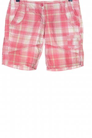Blind Date Shorts pink-weiß Allover-Druck Casual-Look