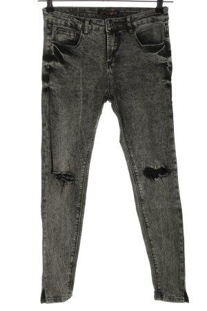 Blind Date Jeans skinny grigio chiaro stile casual