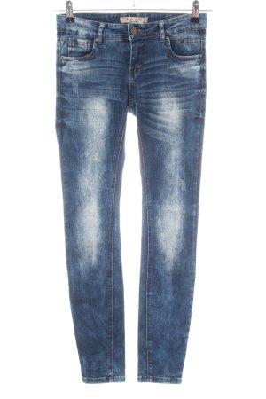 Blind Date Skinny Jeans blau Casual-Look