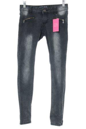 Blind Date Skinny Jeans schwarz-hellgrau Casual-Look