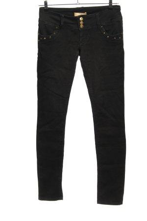 Blind Date Skinny Jeans black casual look