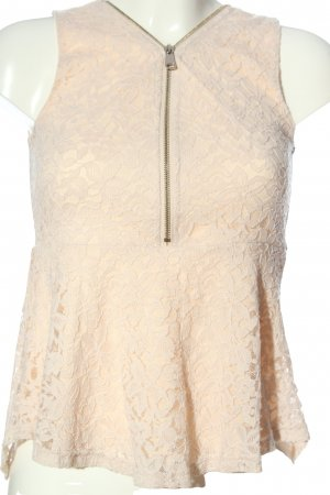 Blind Date Spitzenbluse creme Casual-Look