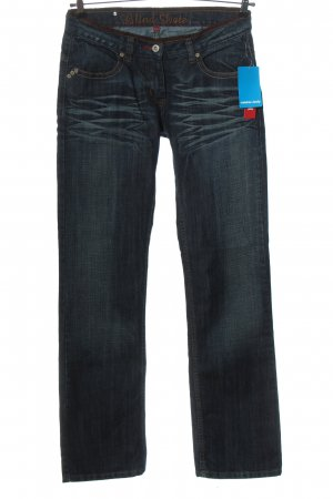 Blind Date Straight Leg Jeans blue casual look
