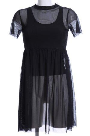 Blind Date Strandkleid schwarz schlichter Stil