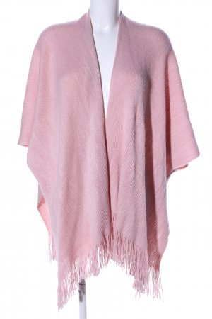 Blind Date Strickponcho pink Casual-Look