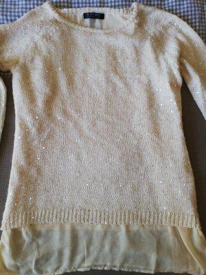 Blind Date Maglione lavorato a maglia bianco sporco-crema