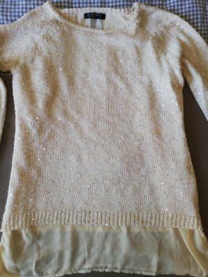 Blind Date Knitted Sweater natural white-cream