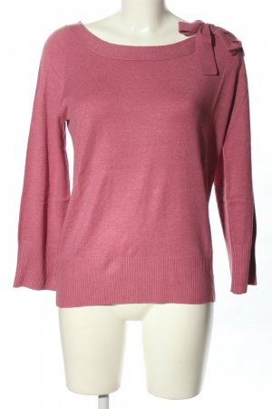 Blind Date Strickpullover pink Casual-Look