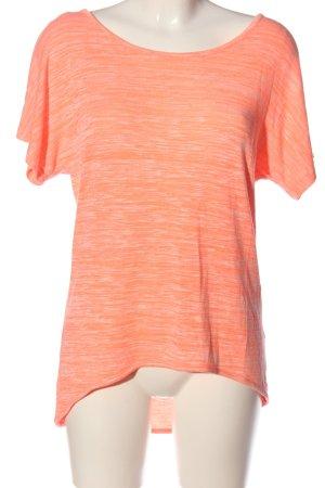 Blind Date Camicia maglia rosa puntinato stile casual