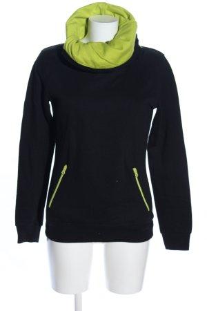 Blind Date Sweatshirt schwarz-grün Casual-Look