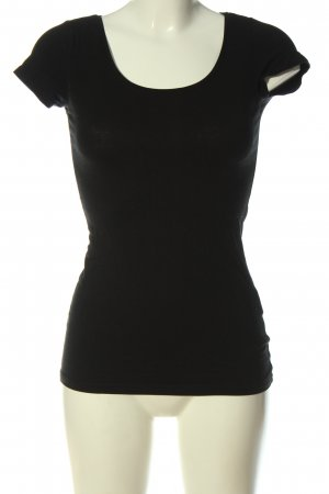 Blind Date T-shirt nero stile casual