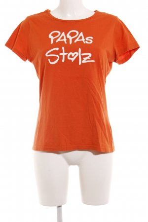Blind Date T-Shirt dunkelorange Casual-Look