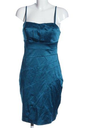 Blind Date Trägerkleid blau Elegant