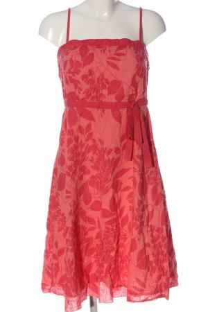 Blind Date Trägerkleid pink-rot Allover-Druck Casual-Look