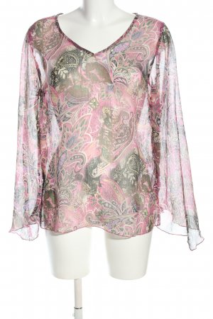 Blind Date Transparenz-Bluse Mustermix Casual-Look