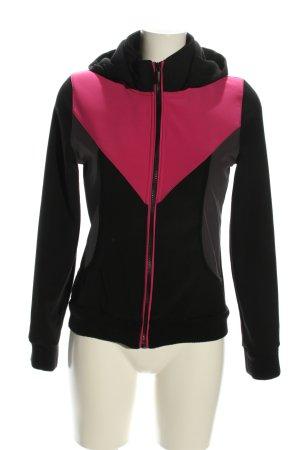 Blind Date Übergangsjacke schwarz-pink sportlicher Stil