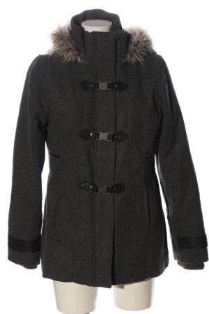 Blind Date Cappotto mezza stagione grigio chiaro-nero puntinato stile casual