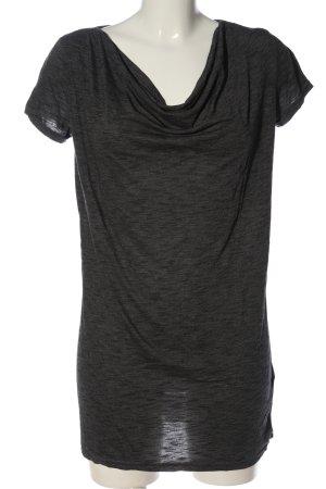 Blind Date Koszulka z dekoltem woda czarny W stylu casual