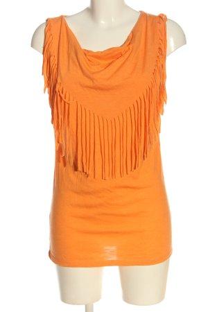 Blind Date Watervaltop licht Oranje casual uitstraling