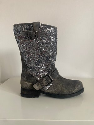Replay Chukka boot argenté-gris