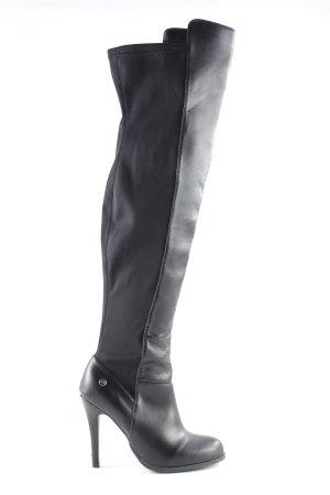 Blink Botas con tacón negro estilo extravagante
