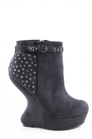 Blink Booties blau extravaganter Stil