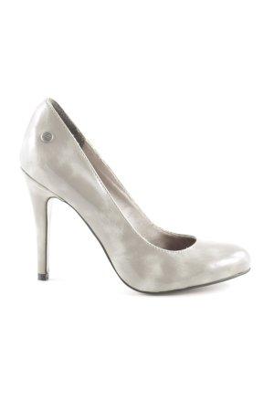 Blink High Heels hellgrau-silberfarben Business-Look