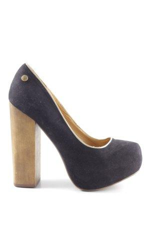 Blink High Heels blau-braun Elegant