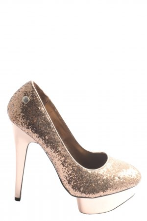 Blink High Heels goldfarben extravaganter Stil
