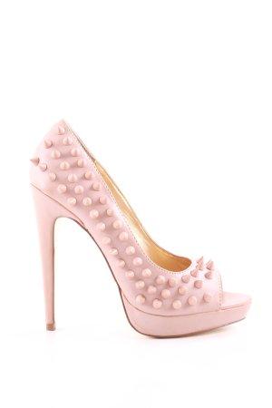 Blink High Heels pink extravaganter Stil