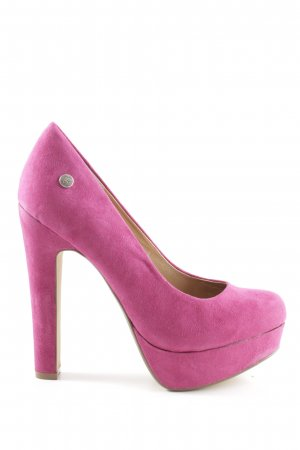 Blink Plateau-Pumps pink extravaganter Stil
