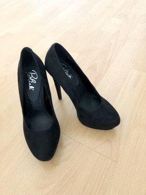 Blink, Pumps, High Heels, Plateau, schwarz, Gr. 37 neu