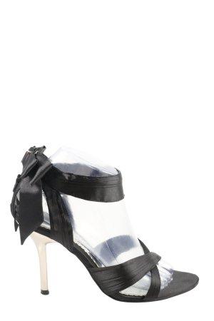 Blink Sandalen met bandjes en hoge hakken zwart elegant