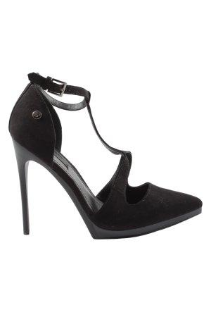Blink Spitse pumps zwart extravagante stijl