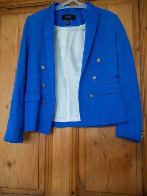 Blitzblauer Blazer Mango Suit