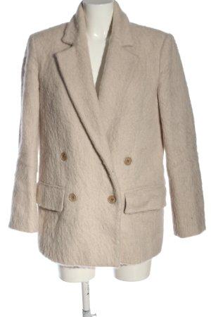Blk dnm Fake Fur Jacket cream casual look